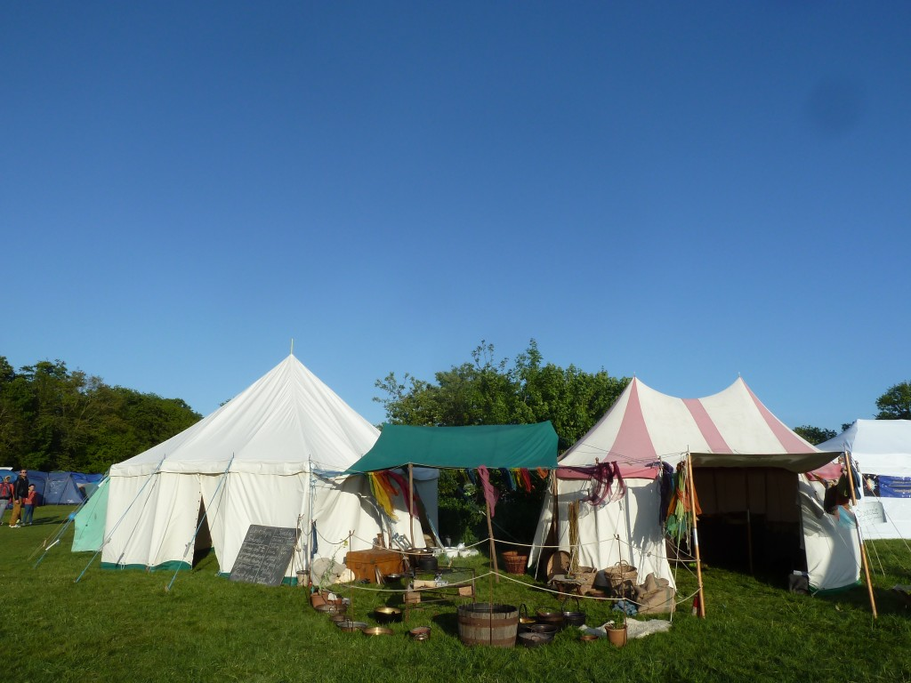 Our stall and workshop tent at Wood Festival 2015