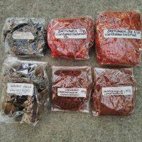 Safflower, Logwood, Buckthorn and Walnuts